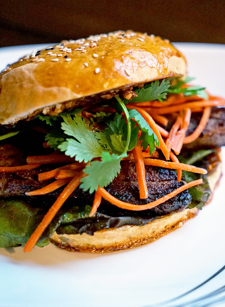Asian Infused Pork Belly Sandwich with Steamed and Baked Bun Recipes