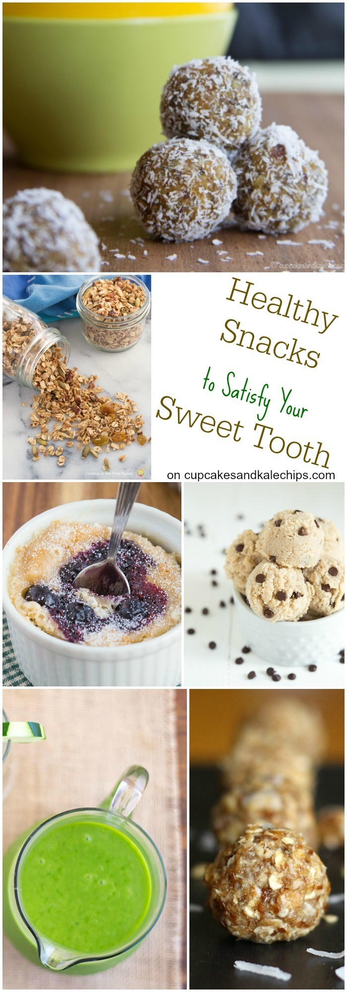 25 Healthy Snacks to Satisfy Your Sweet Tooth