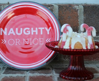 Peppermint Candy Cane Bundt Cake/#BundtBakers