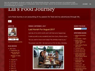 Lia's Food Journey
