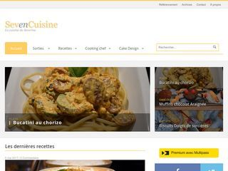 SevenCuisine - La cuisine Cooking Chef de Severine