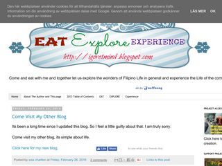 EAT EXPLORE EXPERIENCE