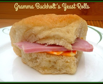 Kicking Off National Sunday Supper Month...Featuring Gramma Buckholt's Yeast Rolls #SundaySupper #FamilyMemories