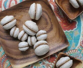 hazelnut coffee macarons recipe
