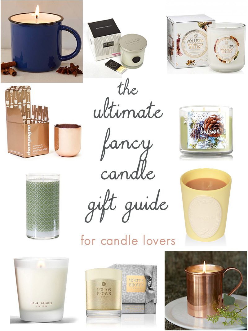 the ultimate gift guide for candle lovers