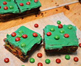 Kid Pleaser M&M'S® Frosted Cookie Bars