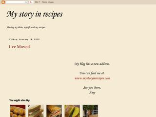 My Story in Recipes