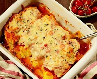 Baked Chicken Parm with a Twist (Frango à Parmegiana de Forno)