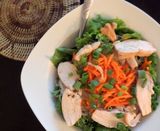 Lemongrass Chicken Vermicelli