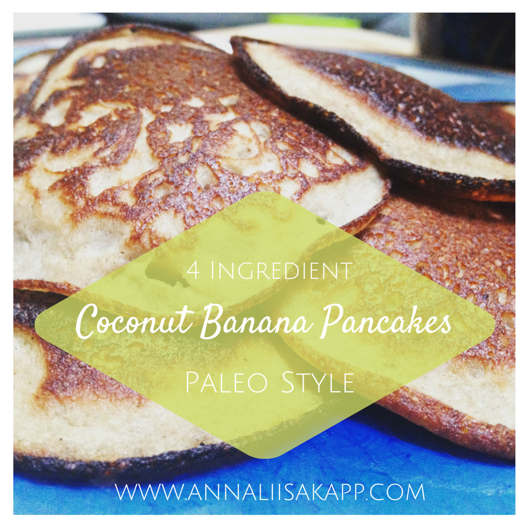 Simple and Delicious Coconut Banana Pancake Recipe (paleo, grain-free, dairy-free)