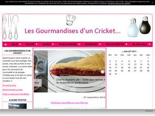 Les Gourmandises d'un Cricket