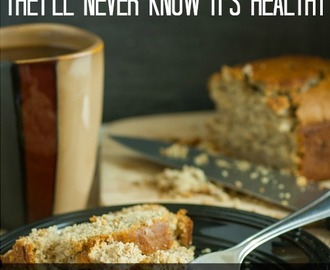 The BEST Banana Bread-they'll Never know it's Healthy! (GF DF)