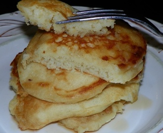 Perfect Yogurt Pancakes