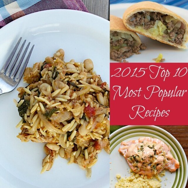 The Top 10 Most Popular Recipes of 2015