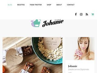 Le blog de Johanie | Nutrition, Dietetics