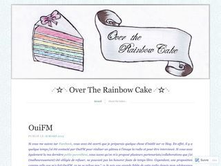 ⋰☆⋱ Over The Rainbow Cake ⋰☆⋱