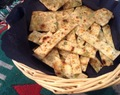 Homemade Green Onion Crackers are sure to impress
