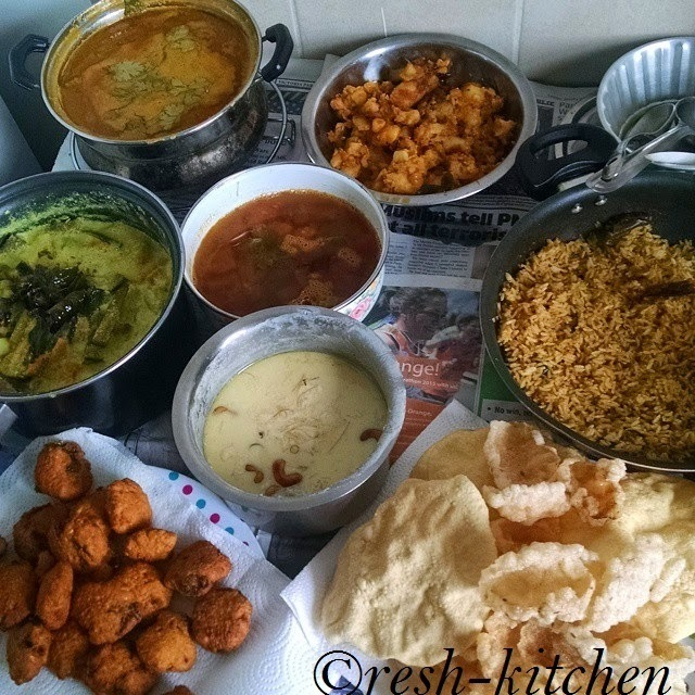 How to prep for a complete South Indian feast?