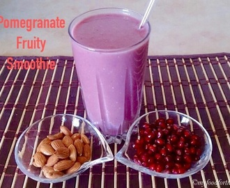 Pomegranate Fruity Smoothie