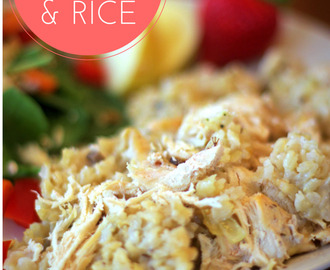 Simple Chicken and Rice Recipe
