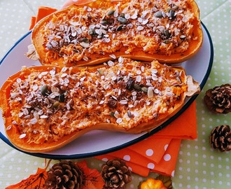 COURGE BUTTERNUT FARCIE CUITE AU FOUR