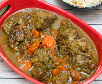 Stewed Oxtails with Calypso Rice