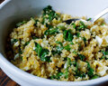 Egg, Spinach and Quinoa Breakfast Scramble
