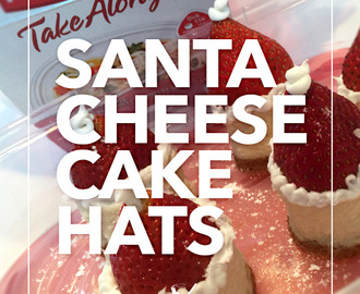 Santa Cheesecake Hats