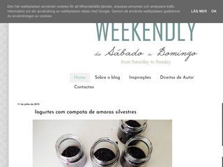 Weekendly - From Saturday to Sunday