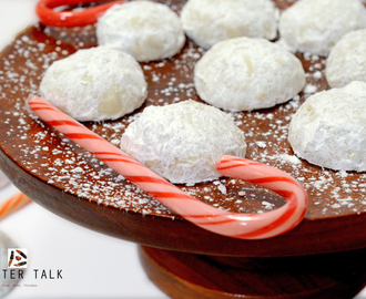 Snowball Christmas Cookies Recipe and Video