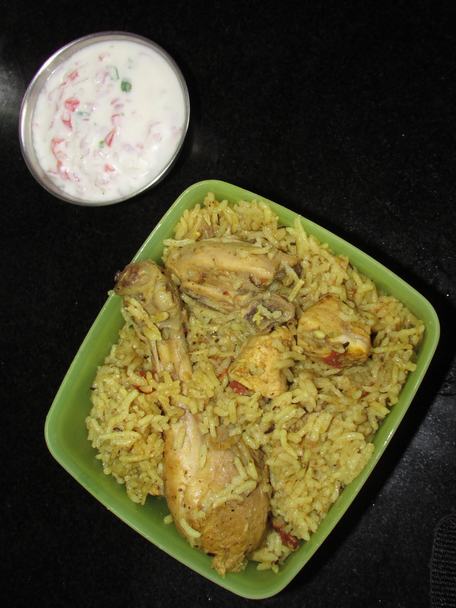 Chicken Biryani (Method 2) |  Muslim style Chicken Biryani