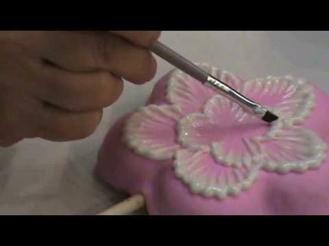 Learn to do Brush Embroidery