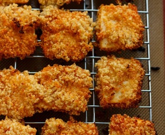 "Quinoa Crusted Tofu Nuggets (Tofu ""Chicken"" Nuggets!)"