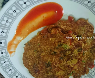 Besan Cheela | Travel friendly food | Healthy breakfast
