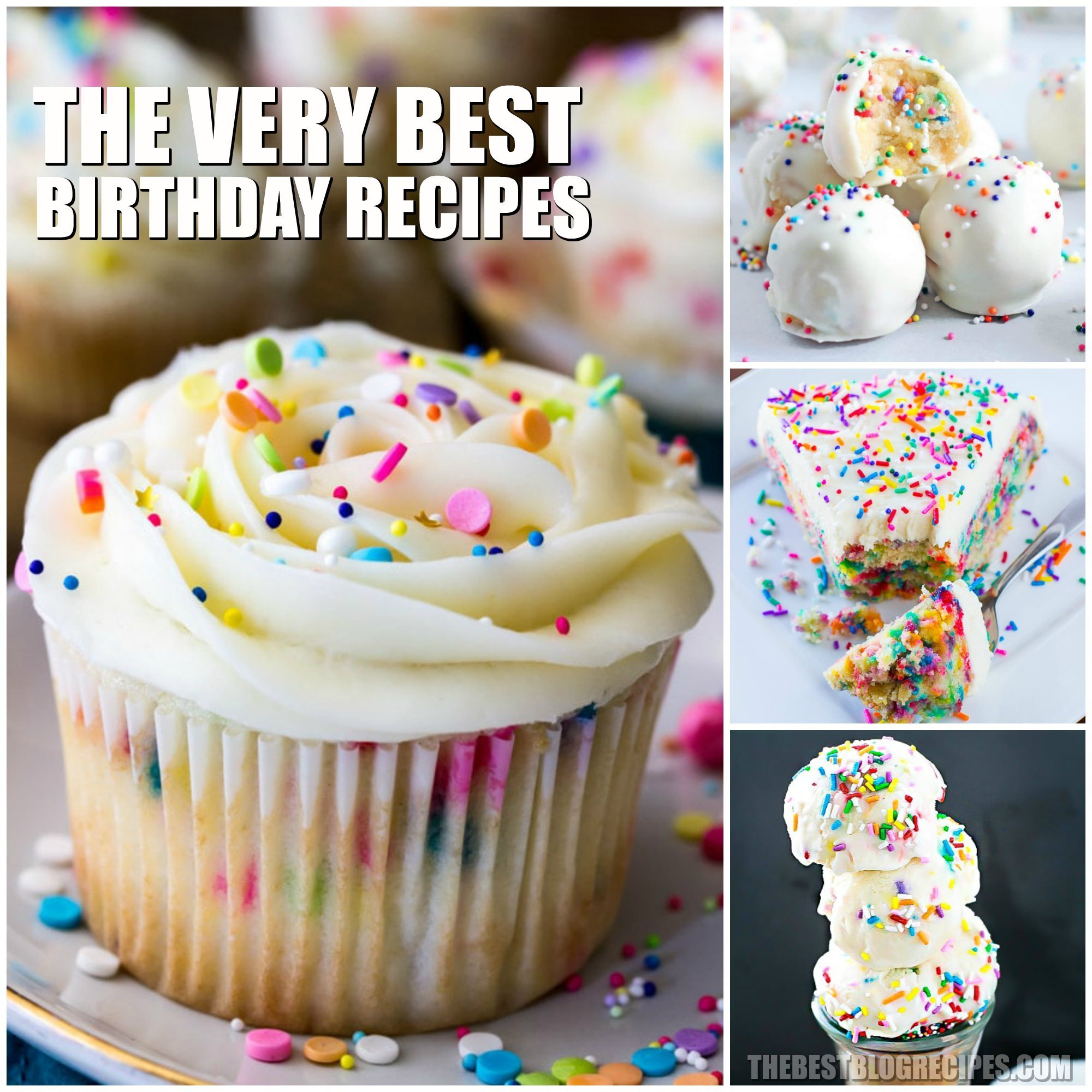 The Best Birthday Recipes