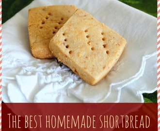 The Best Homemade Shortbread