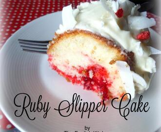 Ruby Slipper Cake