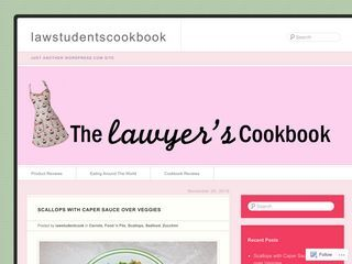 Law students cookbook |