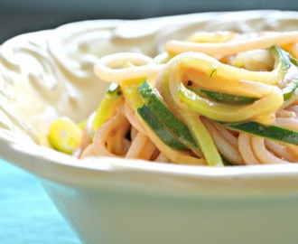 Simple Vegetable Pasta