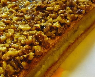 Honeypie with walnuts (miodownik) - Polish Christmas food #5