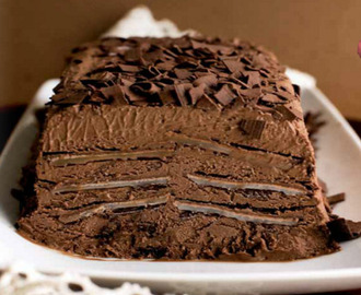 Marquesa de Chocolate con after eight