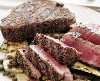 Grilled Salt and Pepper Tuna Recipe
