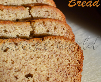 Eggless Banana Loaf Cake | Perfect Eggless Banana Bread