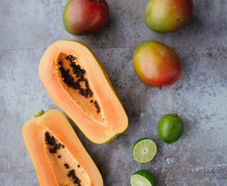 Recipe: Mango and Papaya Fruit Salad