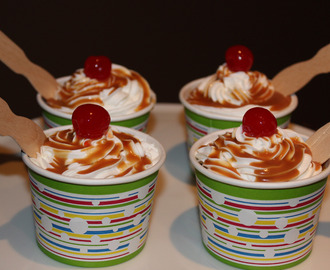 Cupcake Ice Cream Sundaes