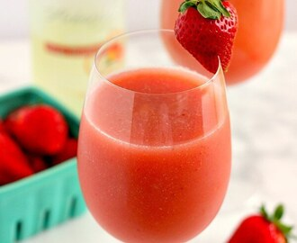 Strawberry Mango Moscato Slush