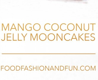 Let's Eat | Mango Coconut Jelly Mooncakes