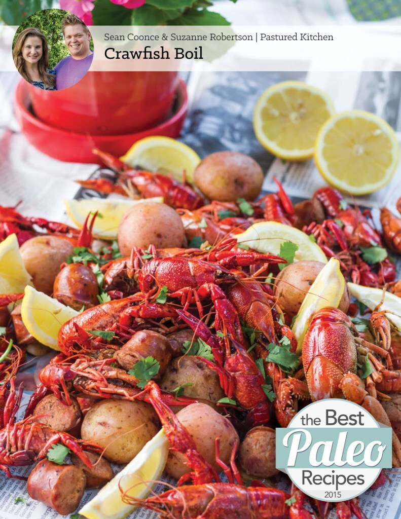 The Best Paleo Recipes of 2015 Ebook | Crawfish Boil