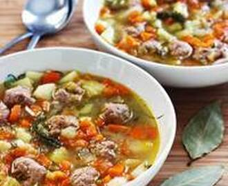Estonian Meatball Soup – Frikadelli Supp Recipe