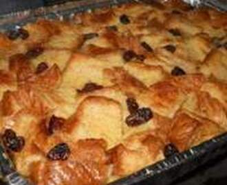 Custard Bread Pudding Recipe